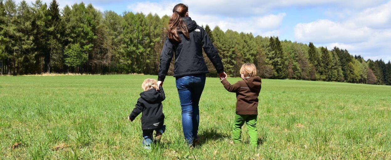 Aktiv mit Kindern